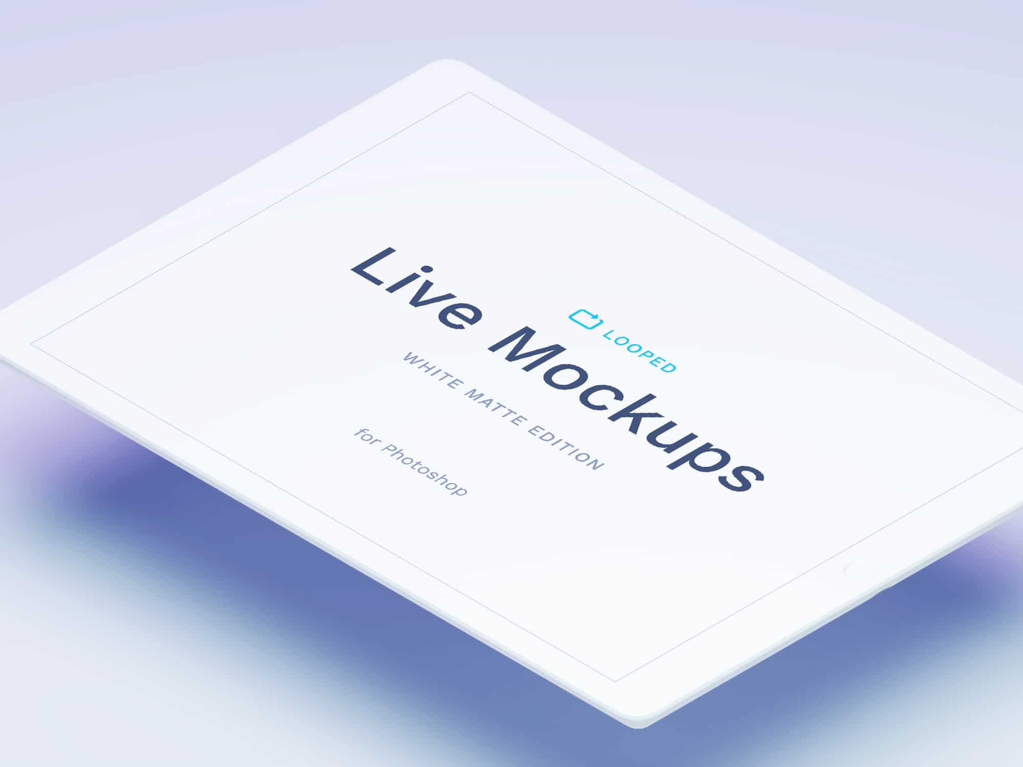 White Matte Apple Devices Mockups | The Mockup Club