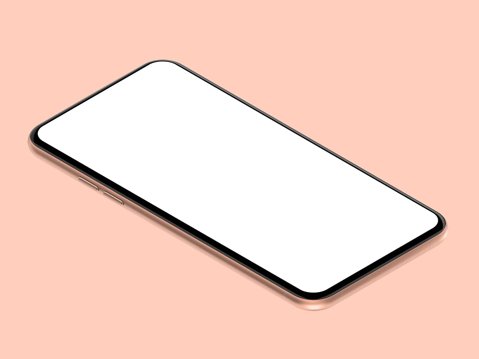 Generic Mobile Device Mockup | The Mockup Club