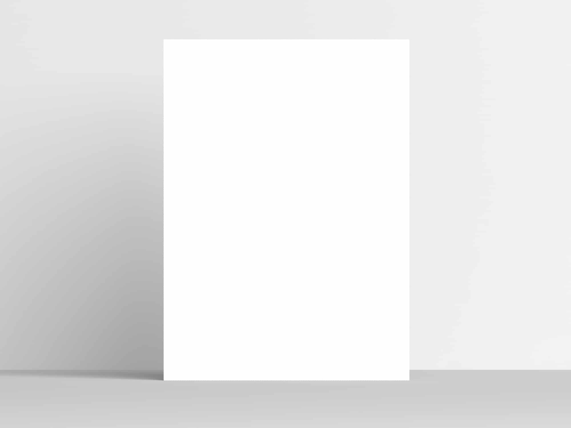 minimal poster mockup the mockup club